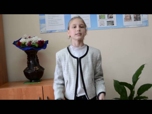 Вероника Кочетова читает произведение «Листопад» (Бунин Иван Алексеевич)