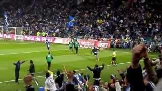 Golo de Kelvin _Porto-Benfica 2013_FCP 2-1 SLB_Emoções à solta