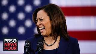 WATCH LIVE: Biden and Harris make 1st appearance as running mates in Delaware