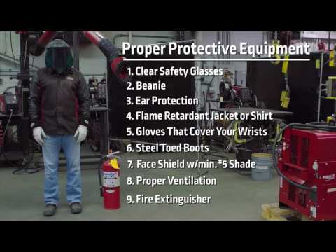 Lincoln Electric® Plasmania Plasma Cutter Safety & Setup