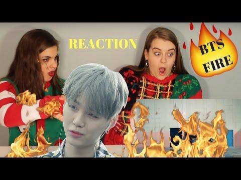 BTS FIRE REACTION
