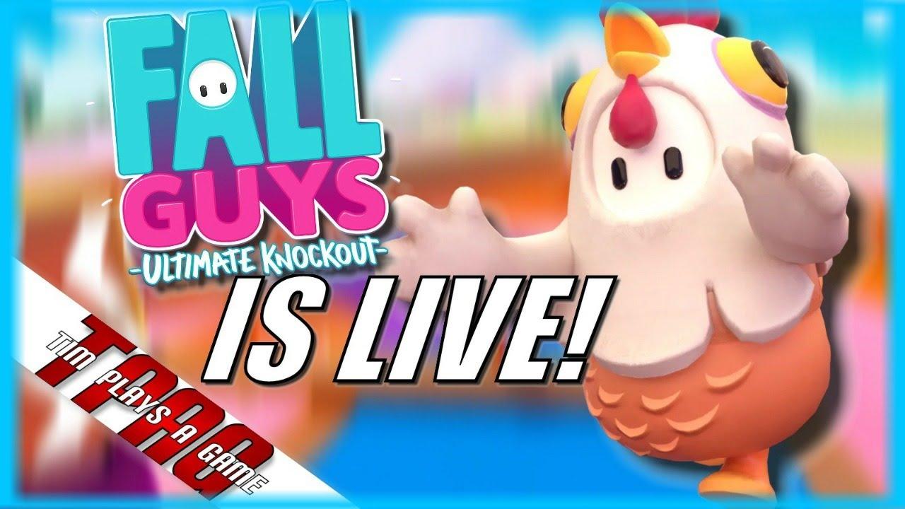 [LIVE] Fall Guys: Ultimate Knockout | Custom Lobby (5/22/2021) | TPAG