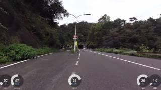 【自転車】揖斐警察署付近から久瀬トンネルまで