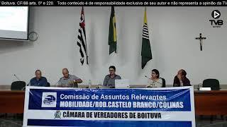Audiência das Comissão de Assuntos Relevantes