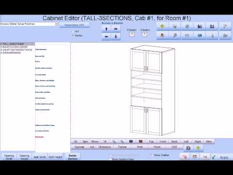 Cabinet Pro Software: Automatic G-Code For Dado Cuts Where Needed