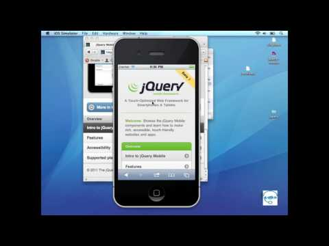 JQuery Mobile Framework - 1. Introduction To JQuery Mobile.