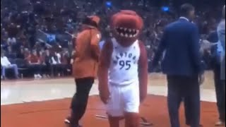 Gucci Mane Disrespected By Mascot At Bucks Raptors Playoff Game