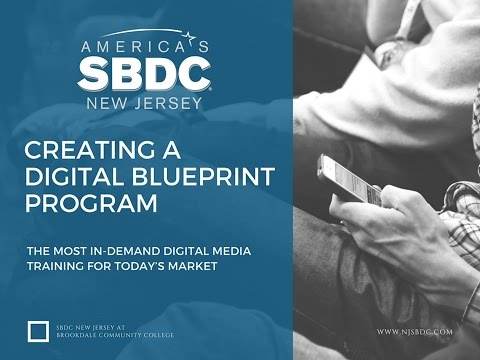 Creating a Digital Blueprint Program