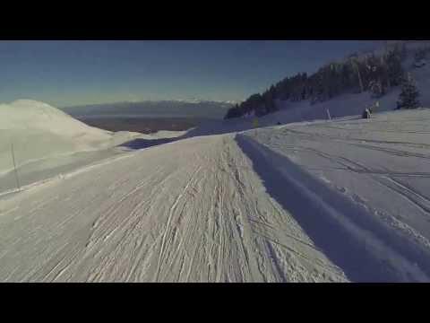 Station de ski Crozet-lelex - gopro Full HD
