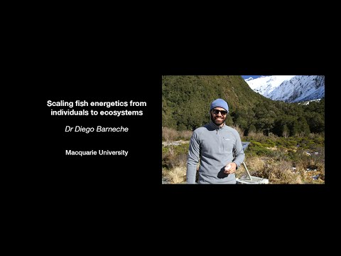 Diego Barneche - Scaling fish energetics from individuals to ecosystems