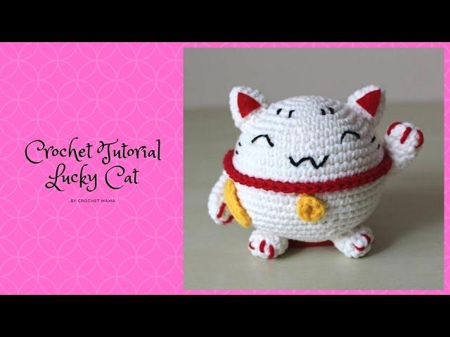 Lucky Cat Amigurumi Pattern amigurumi pattern - Amigurumipatterns.net | 480x640