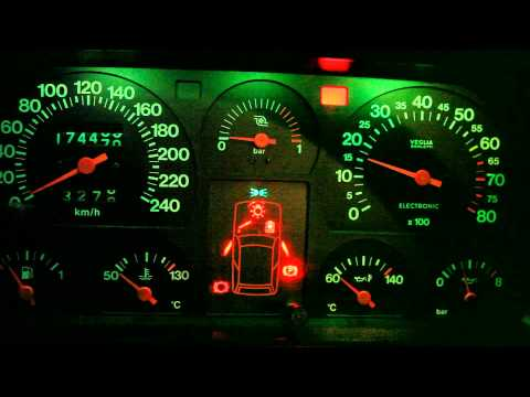 Fiat Uno Turbo Mk1 '86 Check panel and stopwatch HD