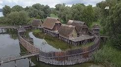 Unterrichtsmaterial: Die Pfahlbauten am Bodensee in der Steinzeit  - Schulfilm - Unterrichtsfilm