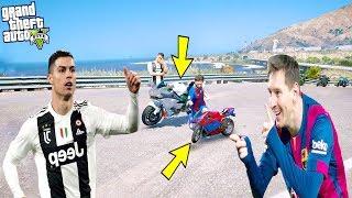 NİNJA H2R VE DÜNYANIN EN KÜÇÜK MOTORU YARIŞIYOR! - GTA 5