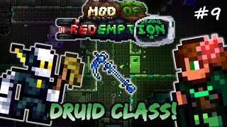 Abandoned Lab &amp The Janitor! Terraria Mod of Redemption DRUID CLASS Let&#39s Play #9 (MoR)