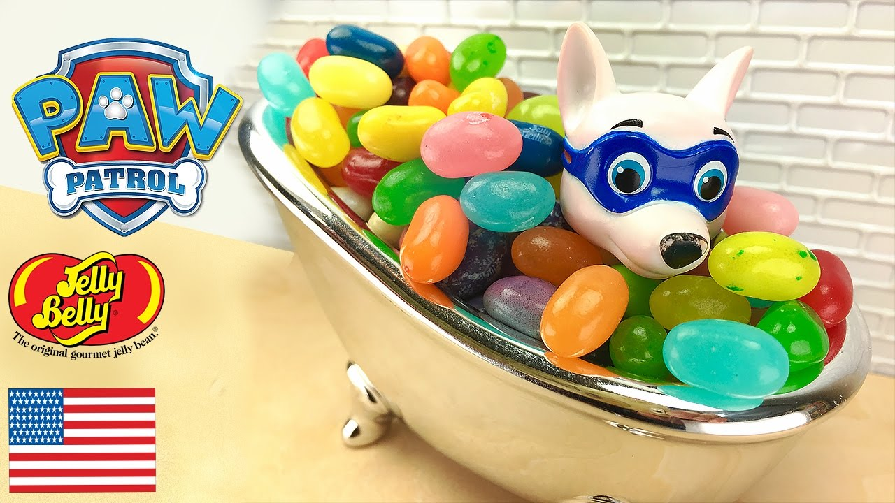 1b516003ea8 Paw Patrol Apollo Candy Surprise Bath Bubbles Toys Jelly Bean Jelly Belly  cute Slime Time Baby Dolls
