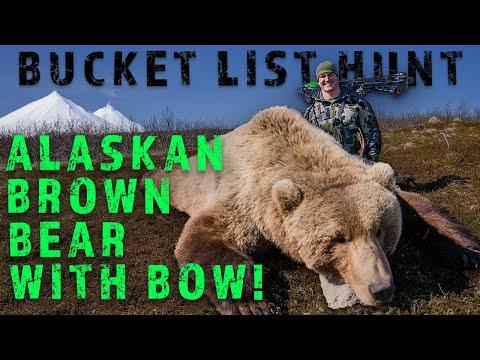 BUCKET LIST HUNT Alaskan Brown Bear With A Bow! | Public Land Bow Hunt |