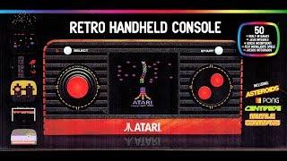 Atari Retro Handheld Console Review (50 in 1 Atari 2600 Portable by Blaze) The No Swear Gamer
