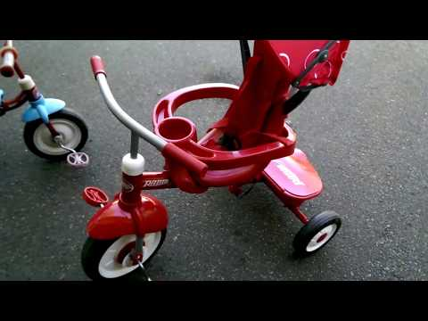 Radio Flyer 4 In 1 Tricycle - Set Up Demo & Review.