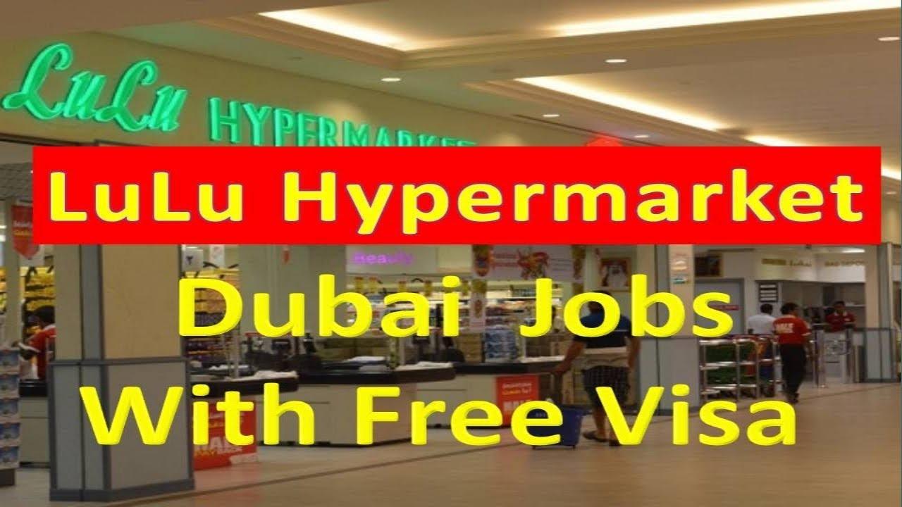 Lulu Hypermarket Jobs In Dubai With Free Visa Salary Upto 6000aed Hindi Urdu Youtube