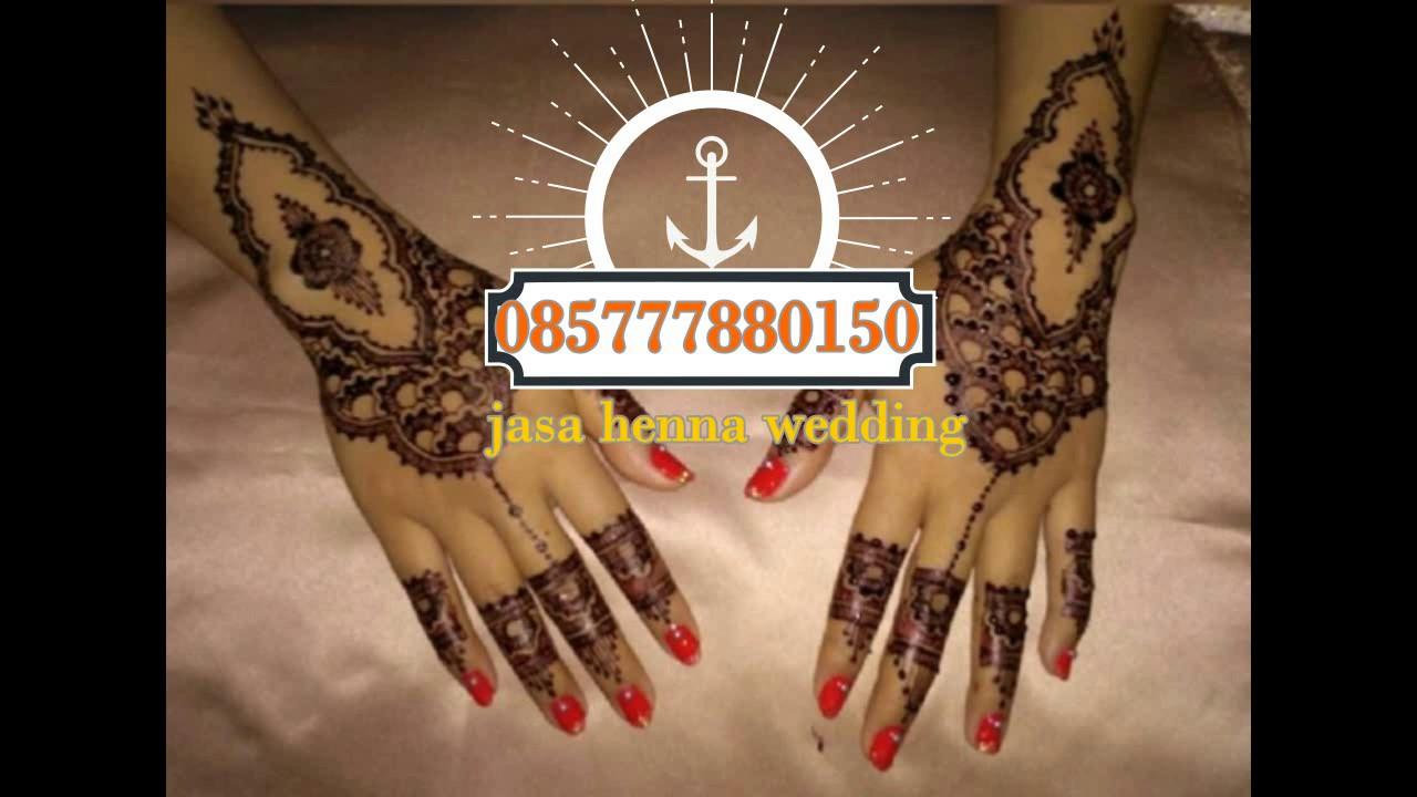 085777880150 Jasa Henna Murah Bagus Artistik Henna Wedding Henna