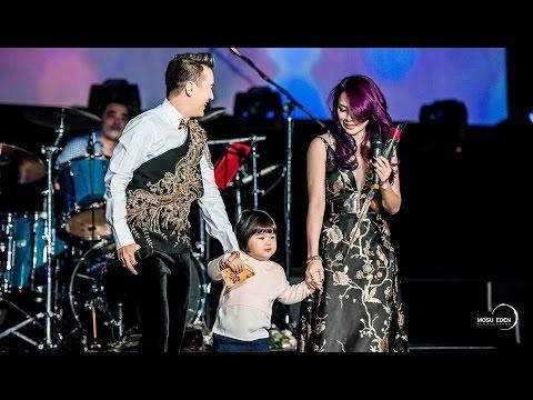 """Mr.Đàm Mỹ Tâm dẫn """"con 3 tuổi"""" lên sân khấu hát Trái Tim Không Ngủ Yên tại Melbourne"""