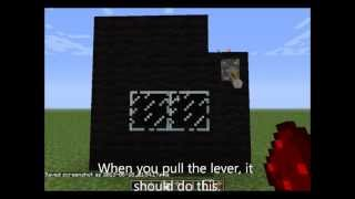 How to Make a Working TV in Minecraft! (No mods) (Not a fake)