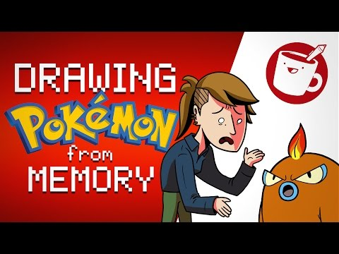 Three Artists Try Drawing Pokémon from Memory