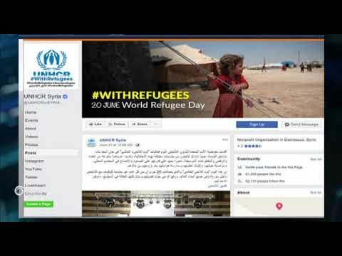 عزف على جراح السوريين المهجرين ,,, الأمم المتحدة تقيم احتفالية في دمشق بمناسبة يوم اللاجئ العالمي !  - نشر قبل 1 ساعة