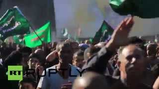 Gambar cover Iraq: See Shia pilgrims BEAT their heads amid IS threat