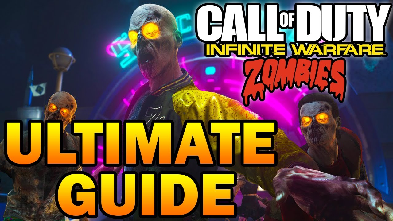 Zombies In Spaceland Ultimate Guide Full Map Walkthrough Easy Tutorial Infinite Warfare