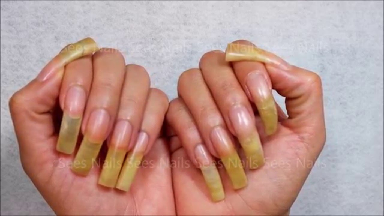 Nail Glue Changes Nail Shapes? Who knew? - YouTube
