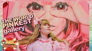 THE CRAZIEST GALLERY OF JAPAN: VISITING THE PINK WORLD OF ASAKURA GARO