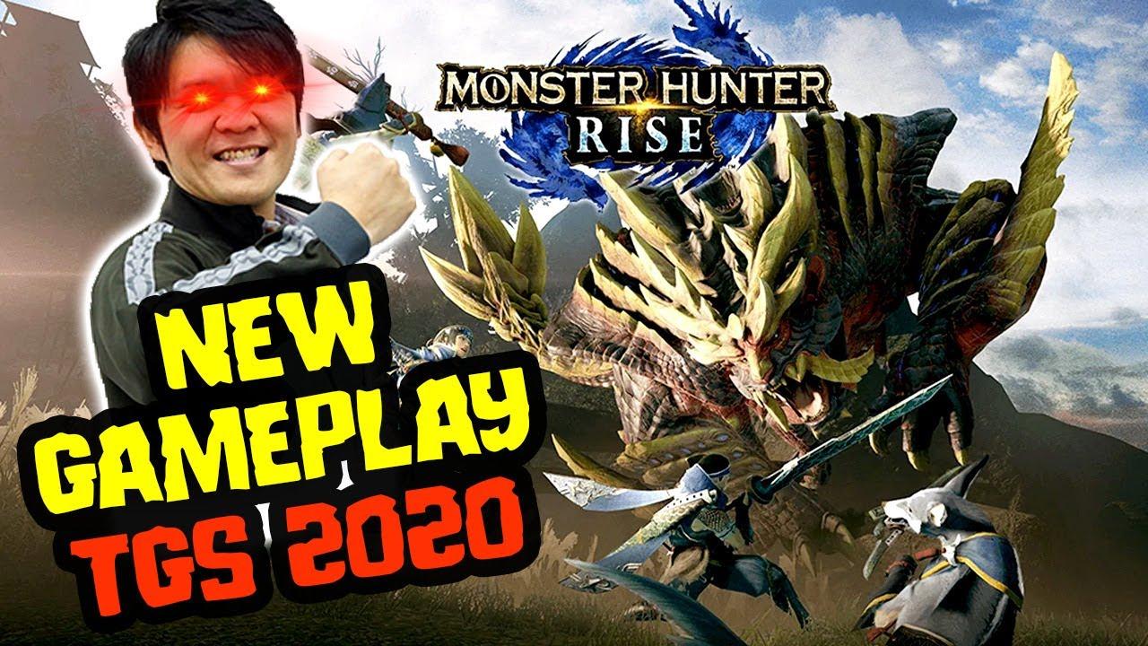 New Monster Hunter Rise Gameplay & Monster Hunter Stories 2 - TGS 2020