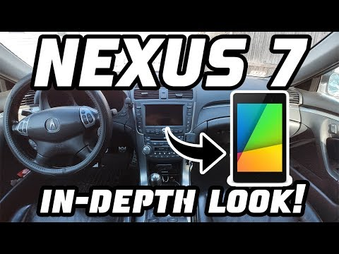 Nexus 7 in the Acura TL  (My setup, How-To, Pros/Cons)
