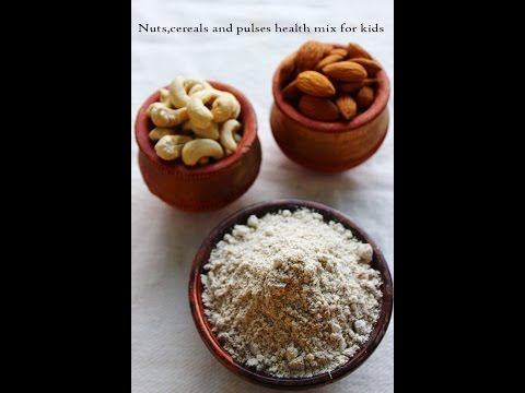 Health mix powder for kids-made with Nuts,cereals and pulses