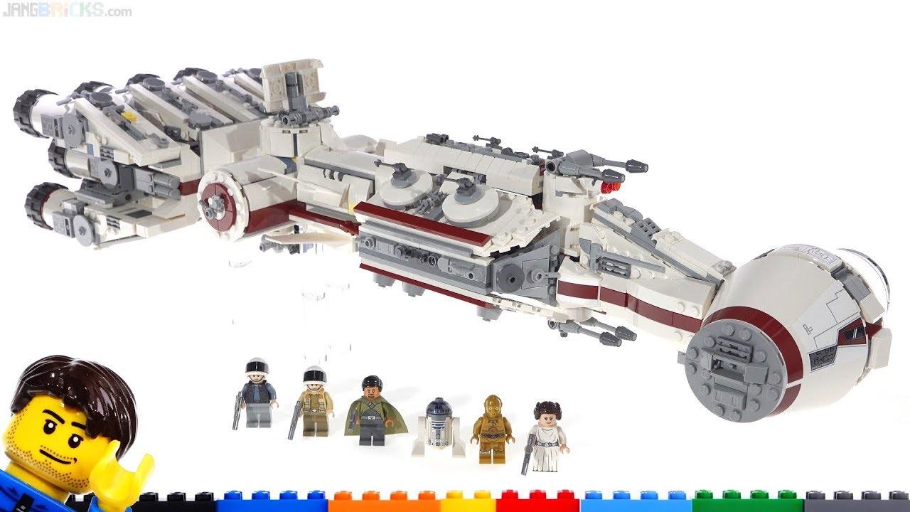 LEGO Star Wars Corellian Corvette Tantive IV 75244 review!