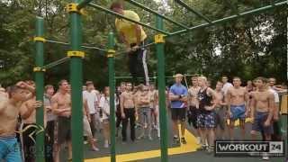 5-ая ежегодная встреча дворовых спортсменов. Москва 2012