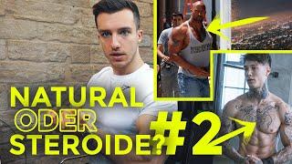 Natural Bodybuilder rät wer auf Stoff ist | Steroid-Quiz #2 mit Tim Gabel