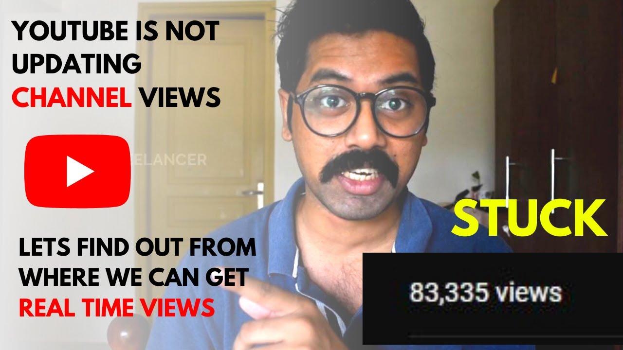 youtube views not updating 2012