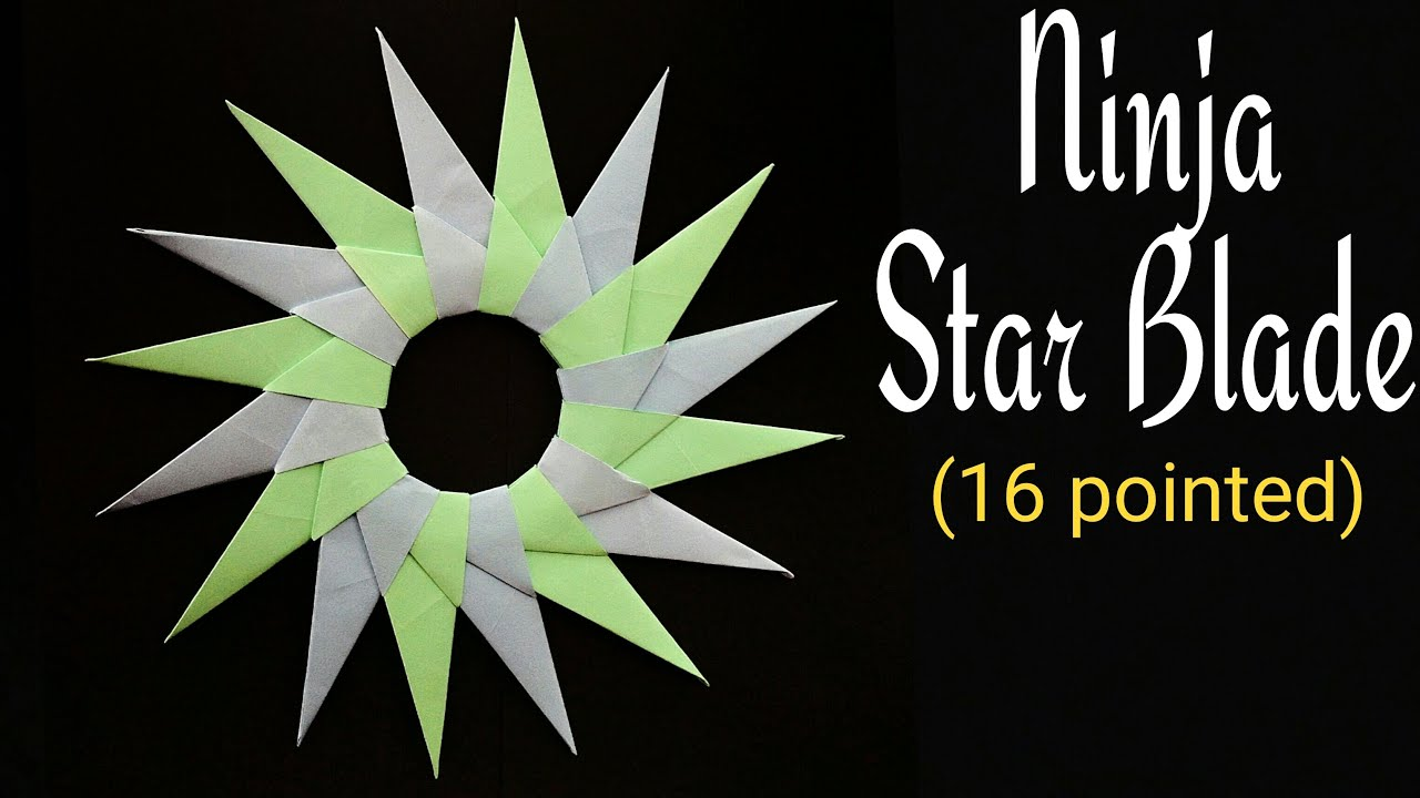 How To Make a Paper Double Ninja Star - Origami - YouTube | 720x1280