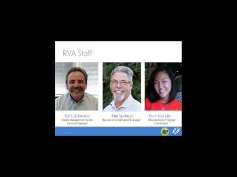 San Mateo County Recycleworks Webinar 3-3-2016