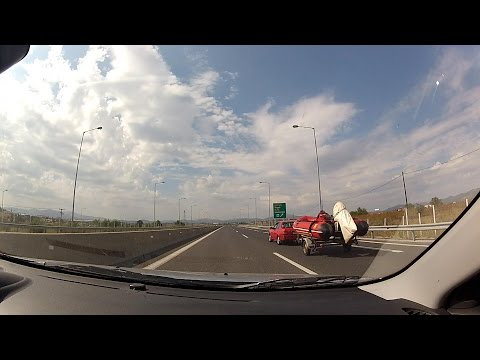 Driving on Motοrway A7 (Moreas) – 9th to 11th exit, Arcadia, Greece (freeway driving) – onboard cam
