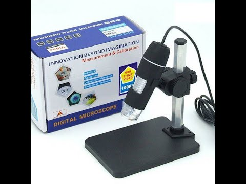 USB Dijital Mikroskop 1000X 2 Megapiksel
