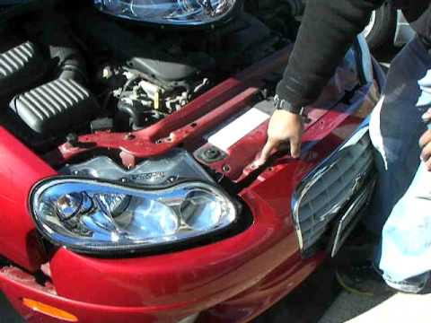 Chrysler Concorde Front Bumper Removal Youtube