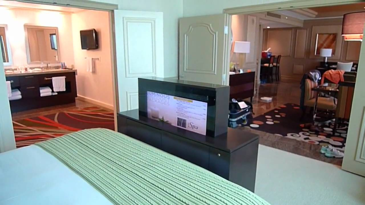 Mirage Two Bedroom Tower Suite Mirage Penthouse Suite  Youtube