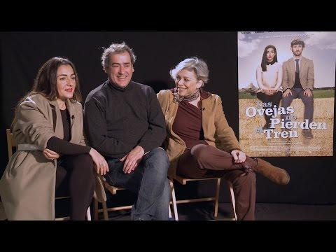 Candela Peña, Jorge Bosch y Kiti Mánver - Entrevista de Las ovejas no pierden del tren