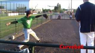 College Baseball Recruiting Video: Bullpen Session 2013 Ian Delemarre (RHP)