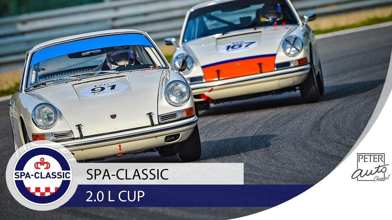 Classic Porsche 911 Race 20L Cup At Spa Francorchamps