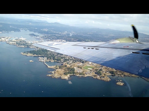 B-17 Flying over Victoria, BC - Part 3